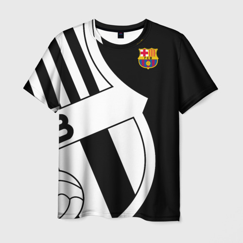 Мужская футболка 3D Barcelona Exclusive