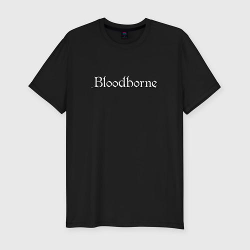 Мужская футболка хлопок Slim bloodborne