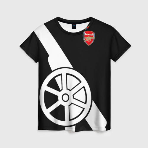 Женская футболка 3D Arsenal Exclusive