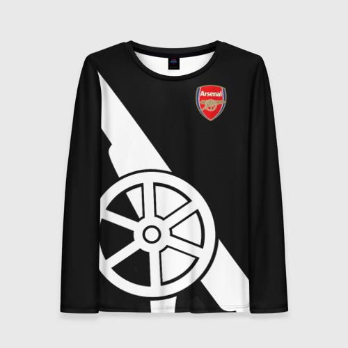 Женский лонгслив 3D Arsenal Exclusive