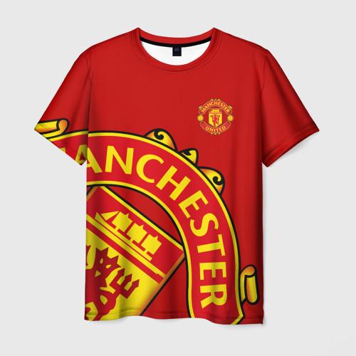Мужская футболка 3D F.C.M.U SPORT | МАНЧЕСТЕР ЮНАЙТЕД | FCMU | MANCHESTER UNITED