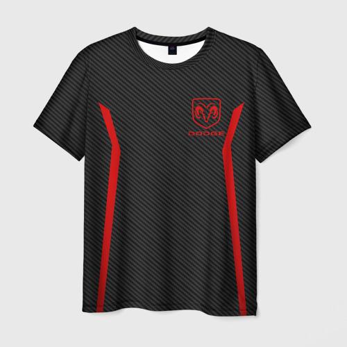 Мужская футболка 3D DODGE SPORT