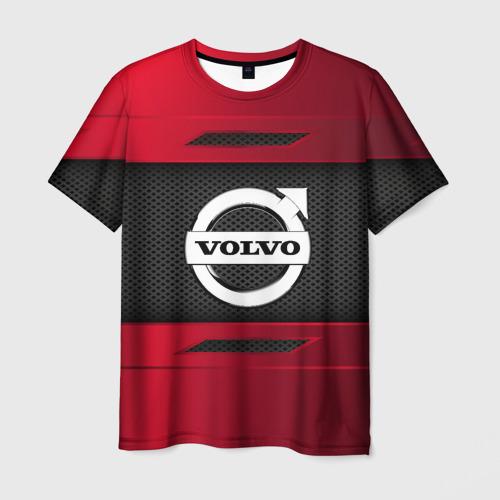 Мужская футболка 3D VOLVO SPORT