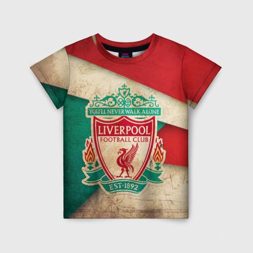 Детская футболка 3D Ливерпуль олд