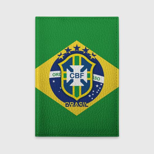 Обложка для автодокументов Сборная Бразилии флаг