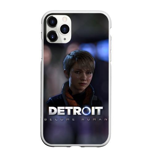Чехол для iPhone 11 Pro Max матовый Detroit: Become Human - Kara
