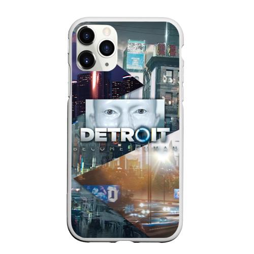 Чехол для iPhone 11 Pro Max матовый Detroit: Become Human