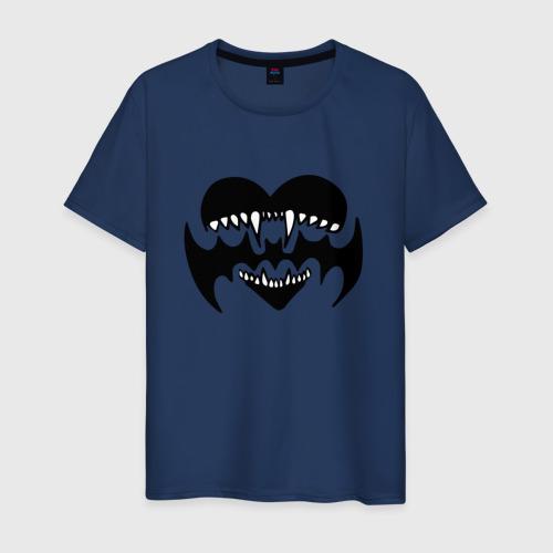 Мужская футболка хлопок Лизер