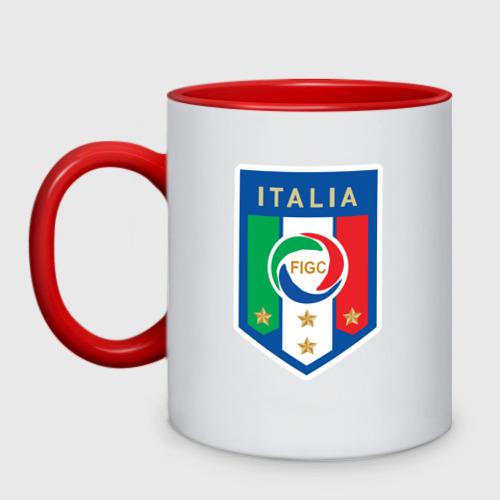 Кружка двухцветная Сборная Италии