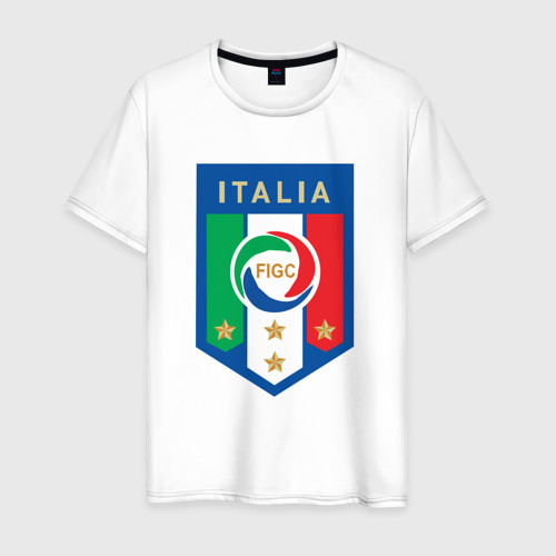 Мужская футболка хлопок Сборная Италии
