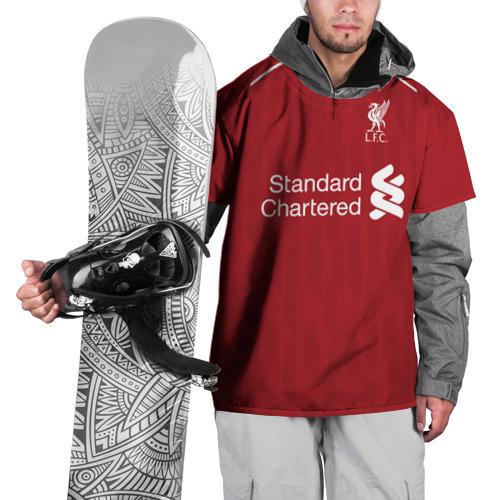 Накидка на куртку 3D Liverpool home 18-19