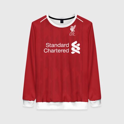 Женский свитшот 3D Liverpool home 18-19