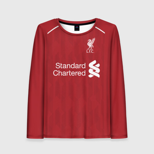 Женский лонгслив 3D Liverpool home 18-19