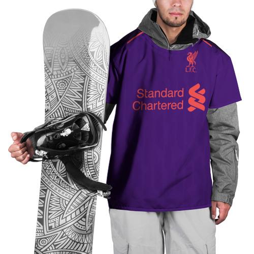 Накидка на куртку 3D Liverpool away 18-19