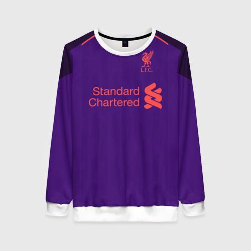Женский свитшот 3D Liverpool away 18-19
