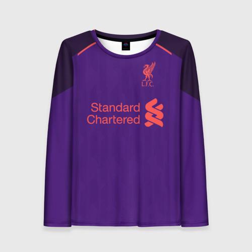 Женский лонгслив 3D Liverpool away 18-19
