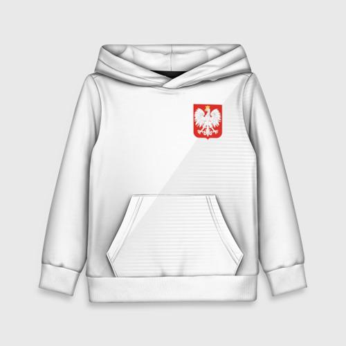 Детская толстовка 3D Польша домашняя форма