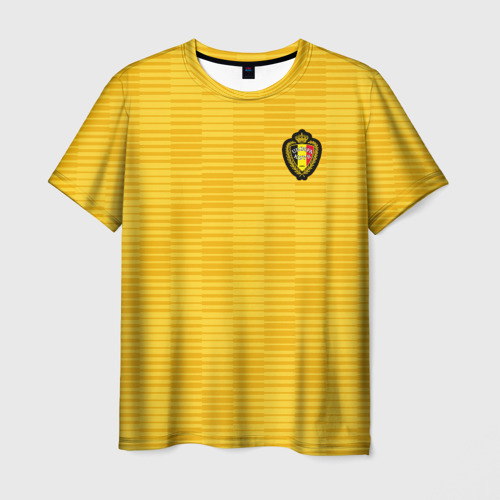 Мужская футболка 3D Сборная Бельгии Away 2018