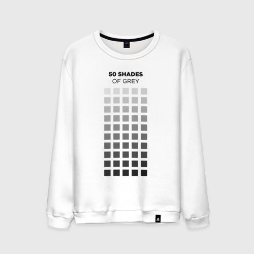 Мужской свитшот хлопок 50 shades of grey for designer