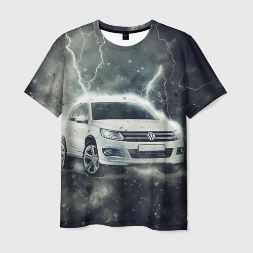 Мужская футболка 3D Volkswagen Tiguan