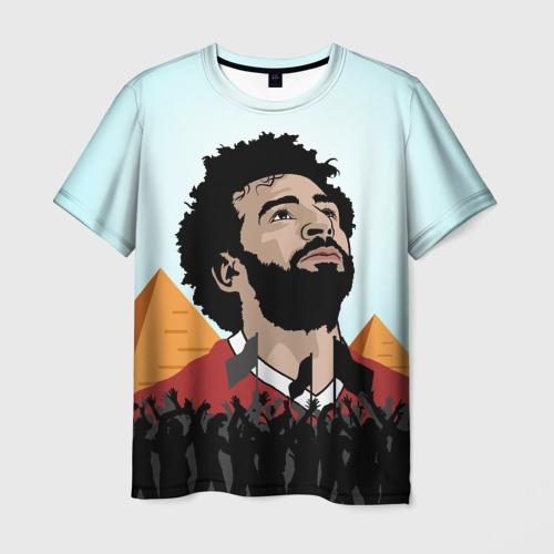 Мужская футболка 3D Salah Egypt