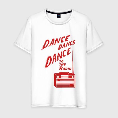 Мужская футболка хлопок Dance to the radio