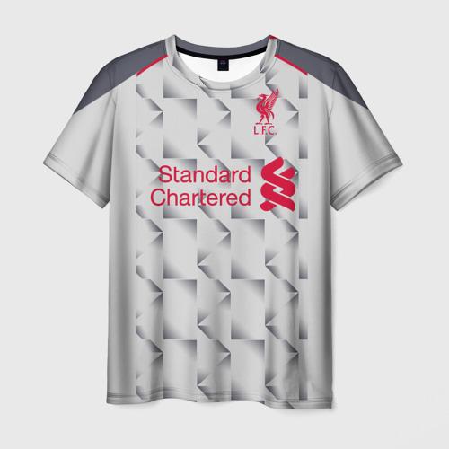 Мужская футболка 3D Salah alternative 18-19