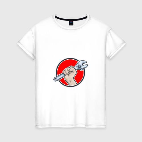 Женская футболка хлопок Мастер на все руки