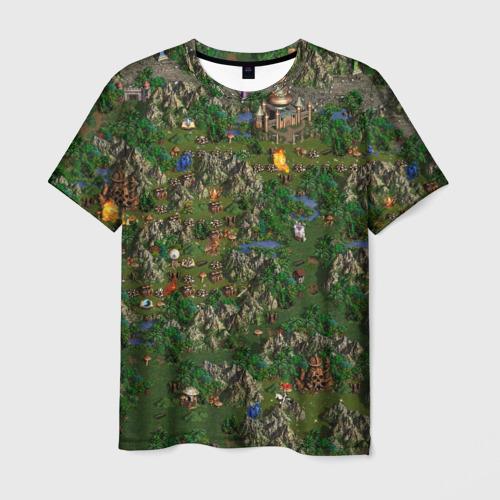 Мужская футболка 3D heroes of might and magic