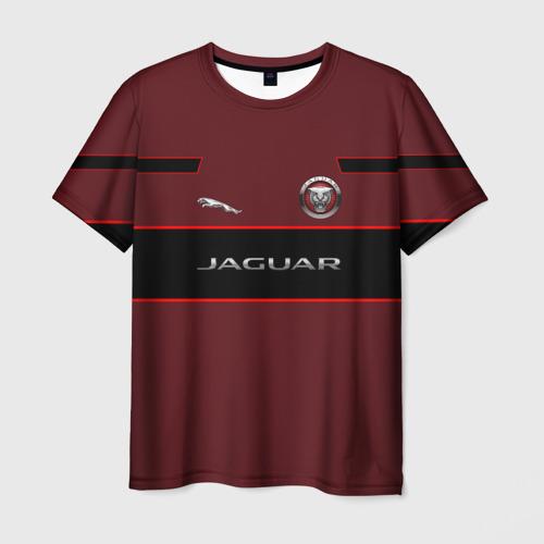 Мужская футболка 3D Jaguar