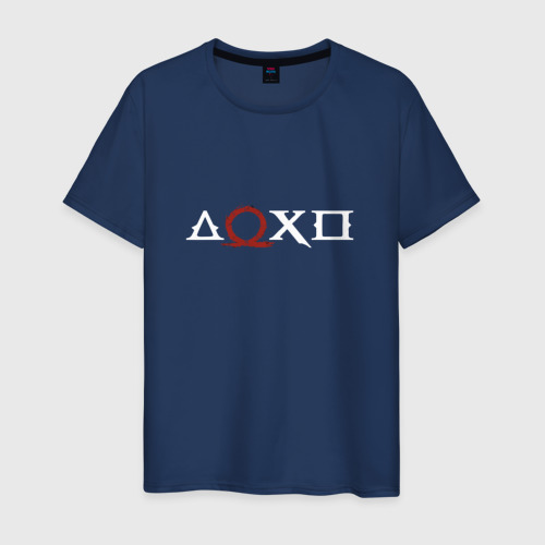 Мужская футболка хлопок Кратос