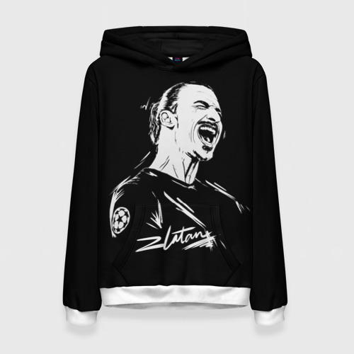 Женская толстовка 3D Zlatan Ibrahimovic
