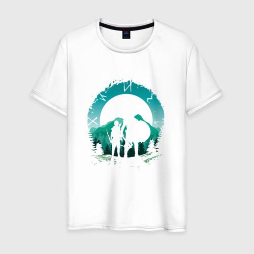 Мужская футболка хлопок God of War