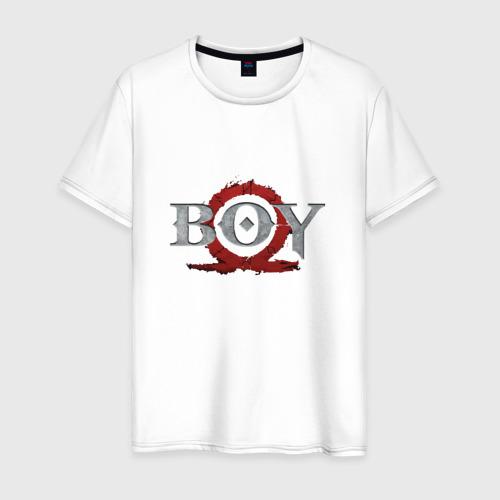 Мужская футболка хлопок God of War 4