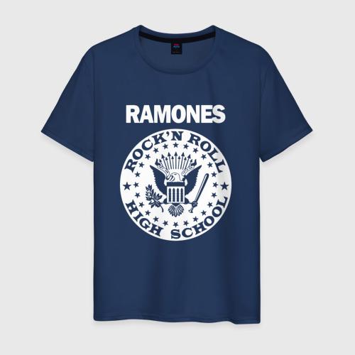 Мужская футболка хлопок Ramones