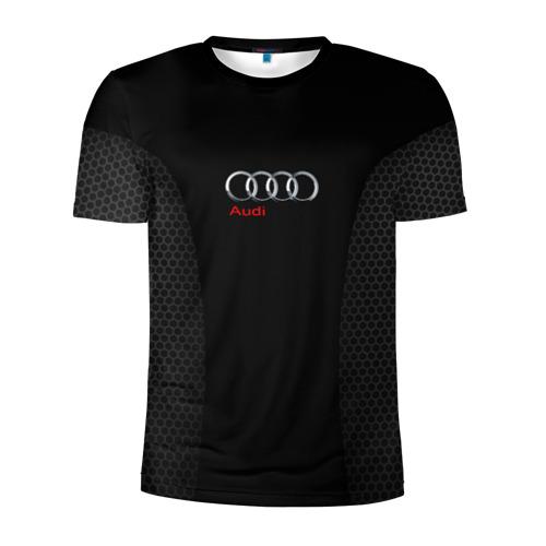 Мужская футболка 3D спортивная Ауди