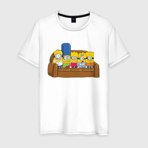 Мужская футболка хлопок Simpsons Minions