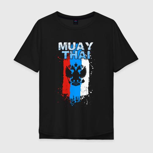 Мужская футболка хлопок Oversize Muay Thai