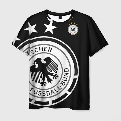 Мужская футболка 3D Сборная Германии Exclusive