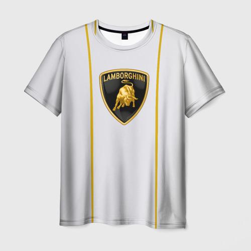 Мужская футболка 3D LAMBORGHINI.