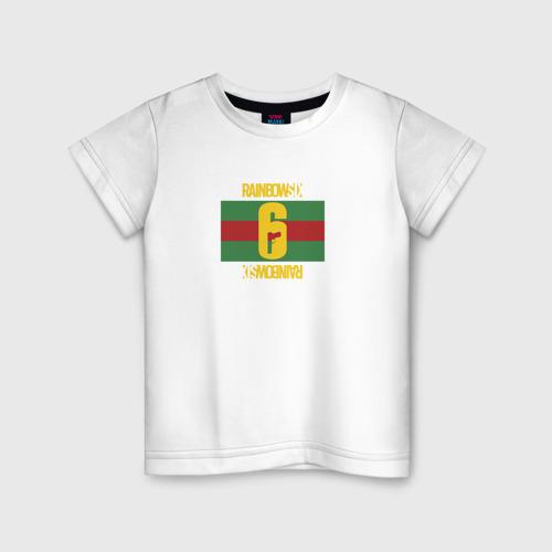 Детская футболка хлопок МОДНЫЙ ОПЕРАТИВНИК R6S