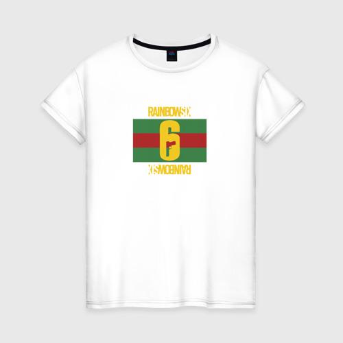 Женская футболка хлопок МОДНЫЙ ОПЕРАТИВНИК R6S