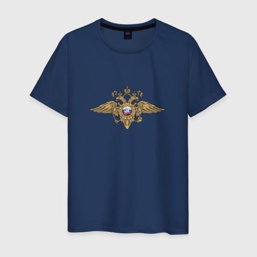 Мужская футболка хлопок Полиция