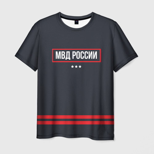 Мужская футболка 3D МВД России