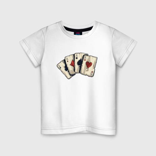 Детская футболка хлопок Старые карты
