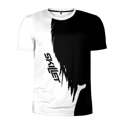 Мужская футболка 3D спортивная Skillet
