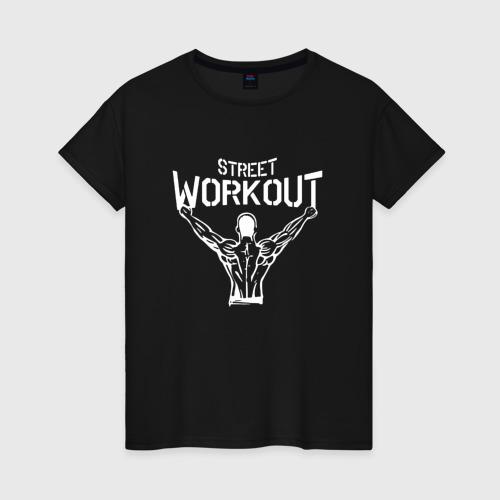 Женская футболка хлопок Stret WorkOut