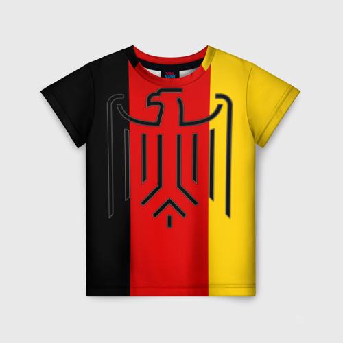 Детская футболка 3D German eagle