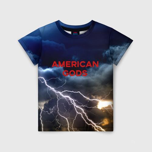 Детская футболка 3D American Gods