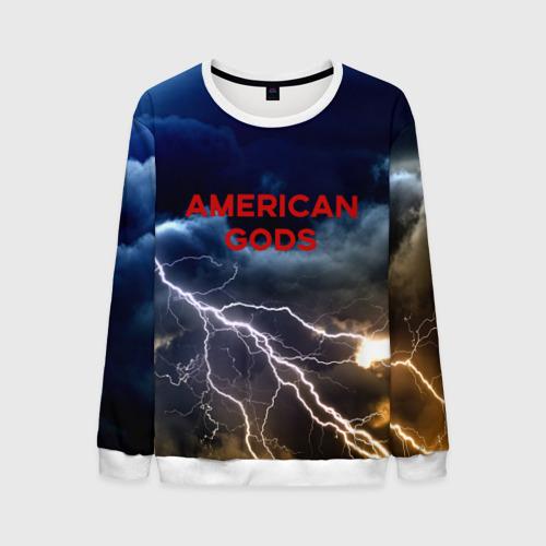 Мужской свитшот 3D American Gods